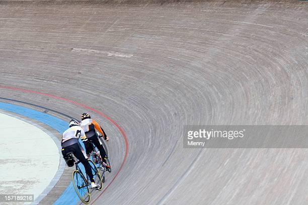 Bicycle velodrom training