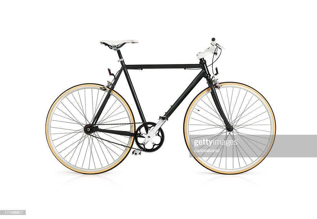 Bicycle with Full Clipping Path : Stock Photo