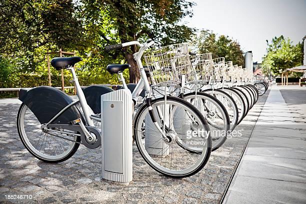 Fahrräder zum Mieten