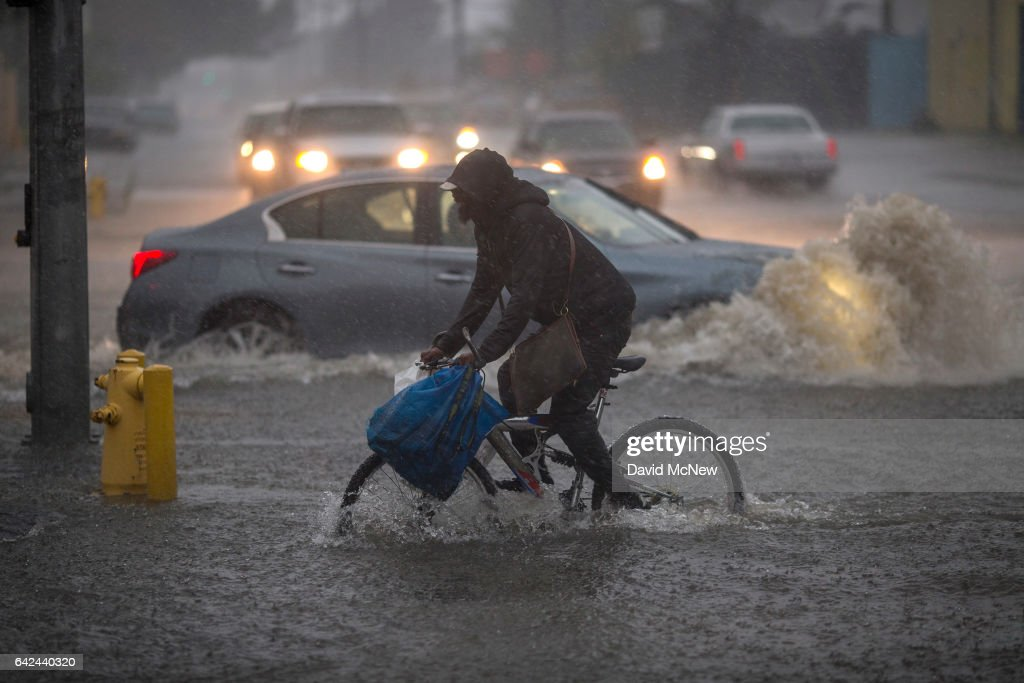 Strongest Storm In Six Years Slams Southern California : News Photo
