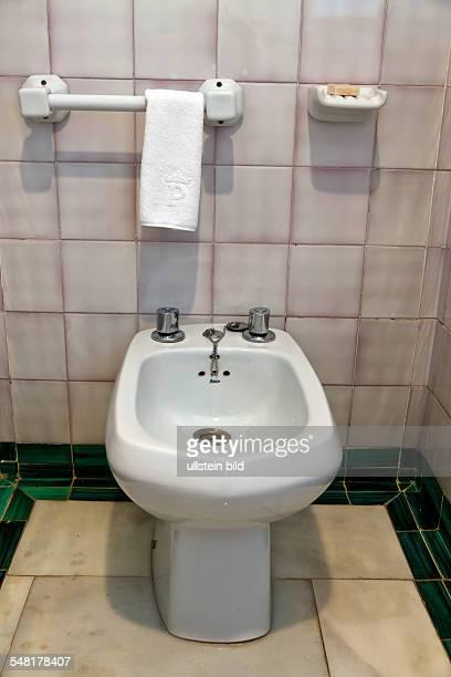 Bidet in a bathroom