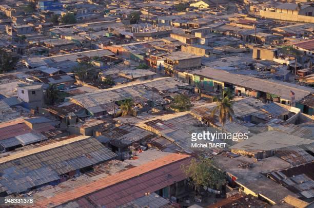 Bidonville Cité Soleil à PortauPrince à Haïti en mars 1998