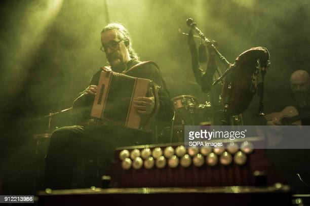 Bieito Romero Luar Na Lubre's bagpiper and accordion player Luar na Lubre is a Spanish music band formed in 1986 they hosted their first gig in the...