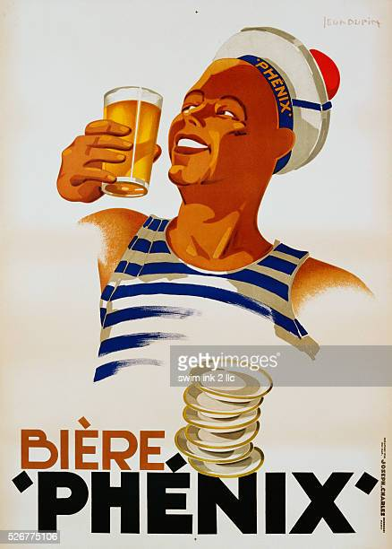 Biere Phenix Poster by Leon Dupin