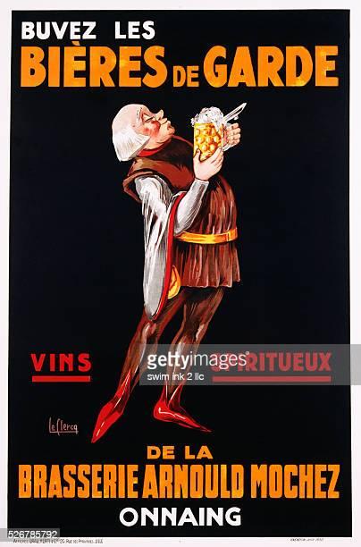 Bieres de Garde Poster by Le Clercq