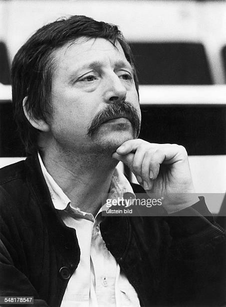 Biermann Wolf * Liedermacher Lyriker D Portrait Juni 1986