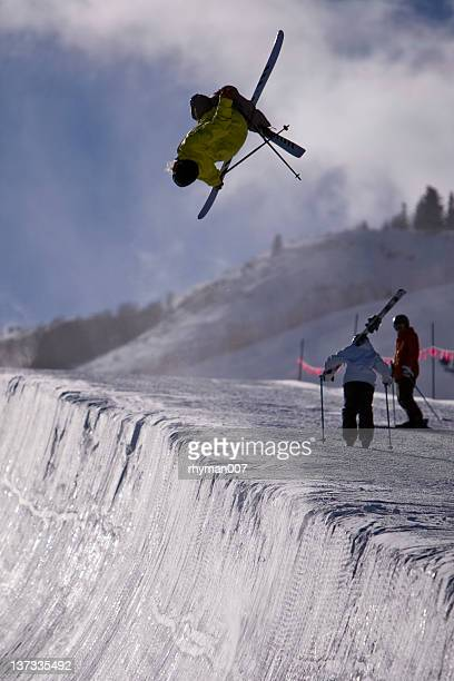big air - half pipe stock pictures, royalty-free photos & images