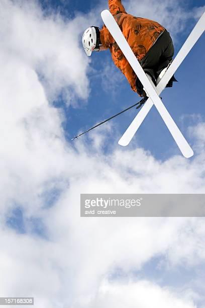 ビッグ air skier2 - ユタ州 パークシティ ストックフォトと画像