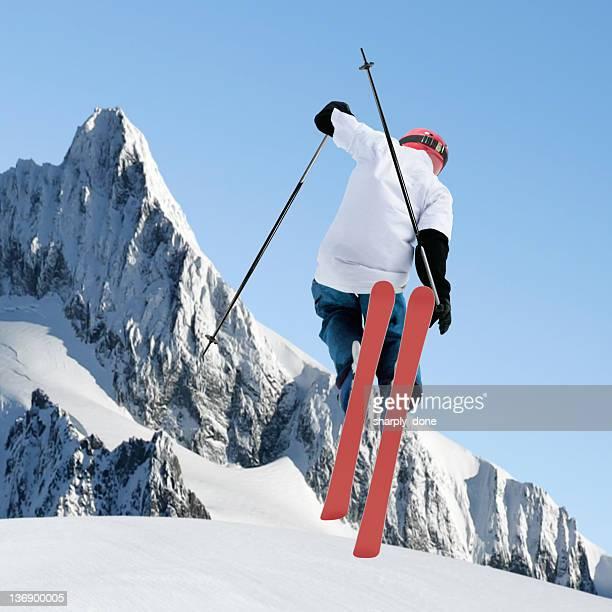 big air skiing
