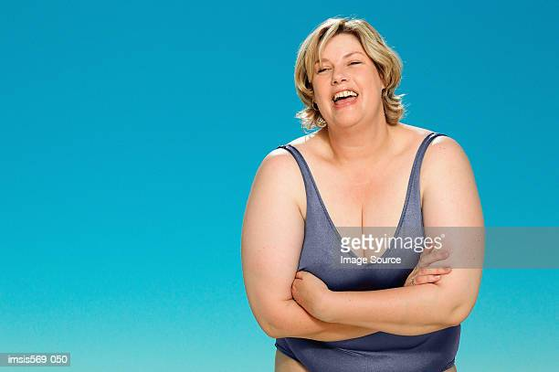 big and happy - big fat white women stock pictures, royalty-free photos & images