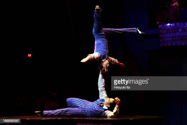 Big Apple Circus presents Grandma Goes To Hollywood at Damrosch Park on Saturday afternoon October 22 2005This imageAndrey Mantchev and Virgile...