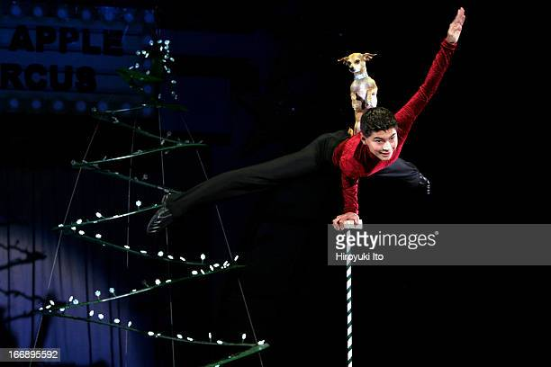 Big Apple Circus presents Grandma Goes To Hollywood at Damrosch Park on Saturday afternoon October 22 2005This imageChristian Atayde Stoinev and...