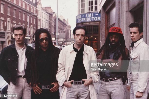 Big Audio Dynamite, London, UK, 8th July 1986.