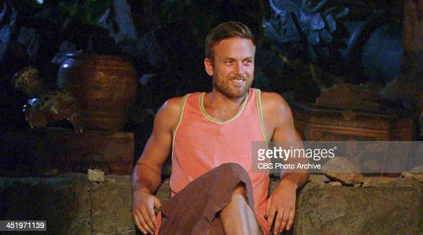 S BEACH WAIKIKI NOVEMBER 18 Big Bad Wolf Aras Baskauskas becomes the first Jury Member at Tribal Council during the tenth episode of SURVIVOR BLOOD...