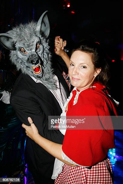 Big Bad Wolf Little Red Riding Hood and attend CENTRAL PARK CONSERVANCY's Halloween Ball at Central Park on October 24 2007 in New York City