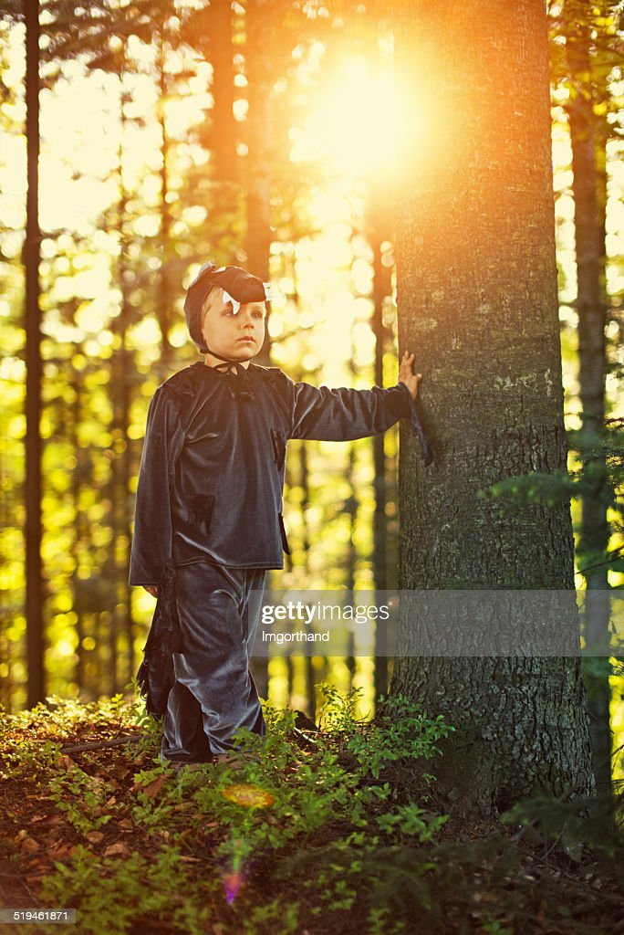 Big Bad Wolf  looking for Little Red Riding Hood : Stock Photo