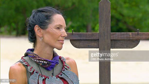 S BEACH WAIKIKI NOVEMBER 18 Big Bad Wolf Monica Culpepper during the tenth episode of SURVIVOR BLOOD vs WATER Wednesday Nov 20 on the CBS Television...