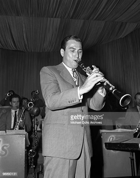 Big Band Leader Artie Shaw performs live on September 27 1945 in Los Angeles California