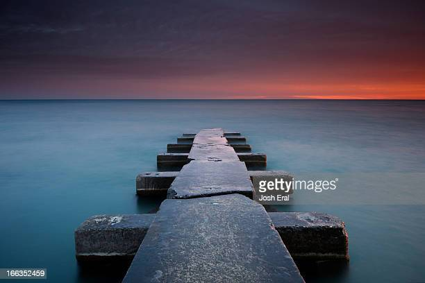 big bay - milwaukee wisconsin stock pictures, royalty-free photos & images