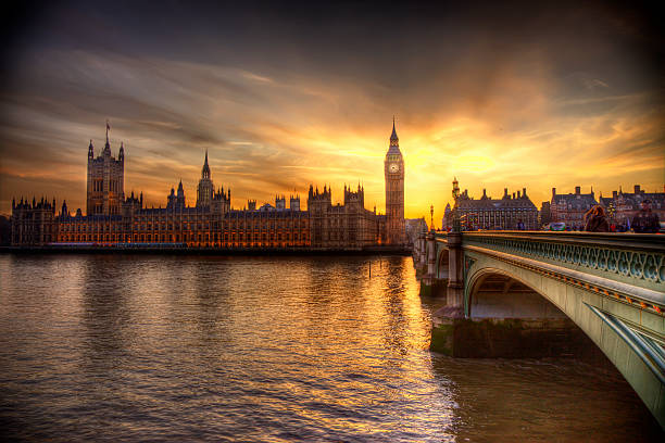 Big Ben And Houses Of Parliament Wall Art
