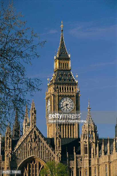 big ben and houses of parliament, unesco world heritage site, westminster, london, england, uk, europe - gavin hellier stock pictures, royalty-free photos & images