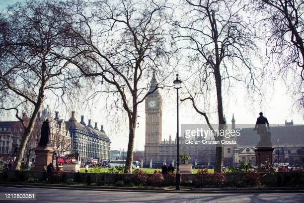 big ben and parliament square in london united kingdom capital city - government stock pictures, royalty-free photos & images