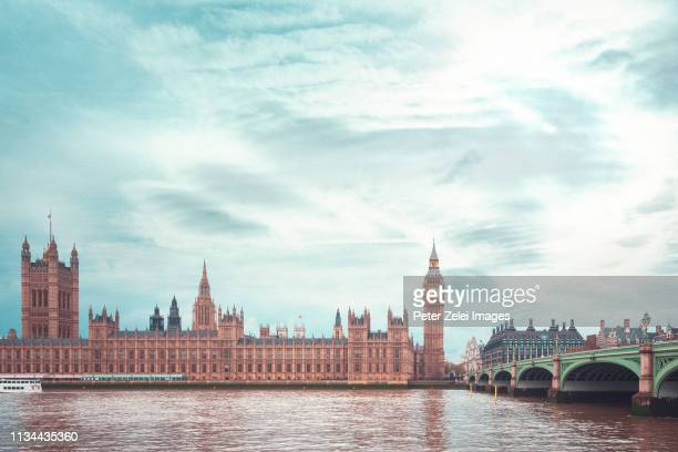 big ben and the house of parliament in london - london stock pictures, royalty-free photos & images