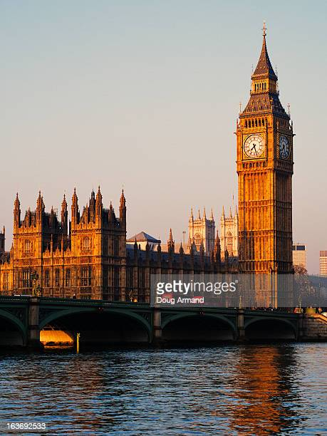 Big Ben and the Houses of Parliament at sunrise