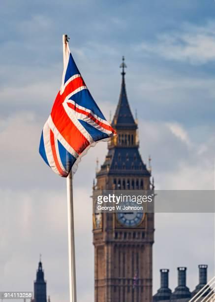 Big Ben and Union Jack I