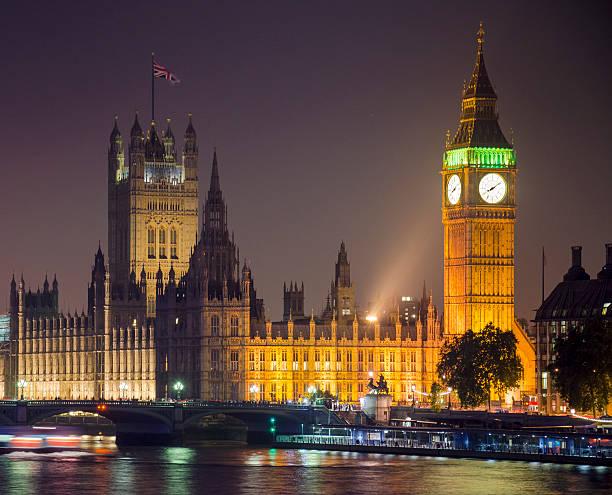 Big Ben At Night, London Wall Art