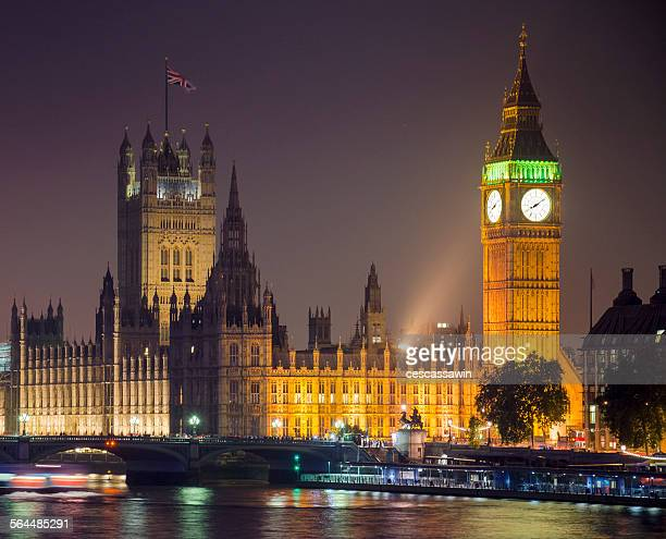 big ben at night, london - politics stock pictures, royalty-free photos & images
