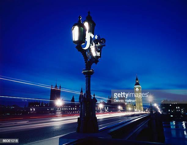 Big Ben at night, Westminster, London, England