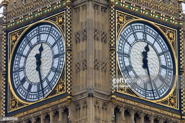 Big Ben clock in Clock Tower London United Kingdom