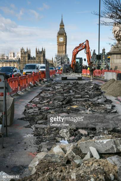 Big Ben clock tower, located at the Palace of Westminster and Parliament complex, is viewed as it undergoes a major renovation on September 12 in...