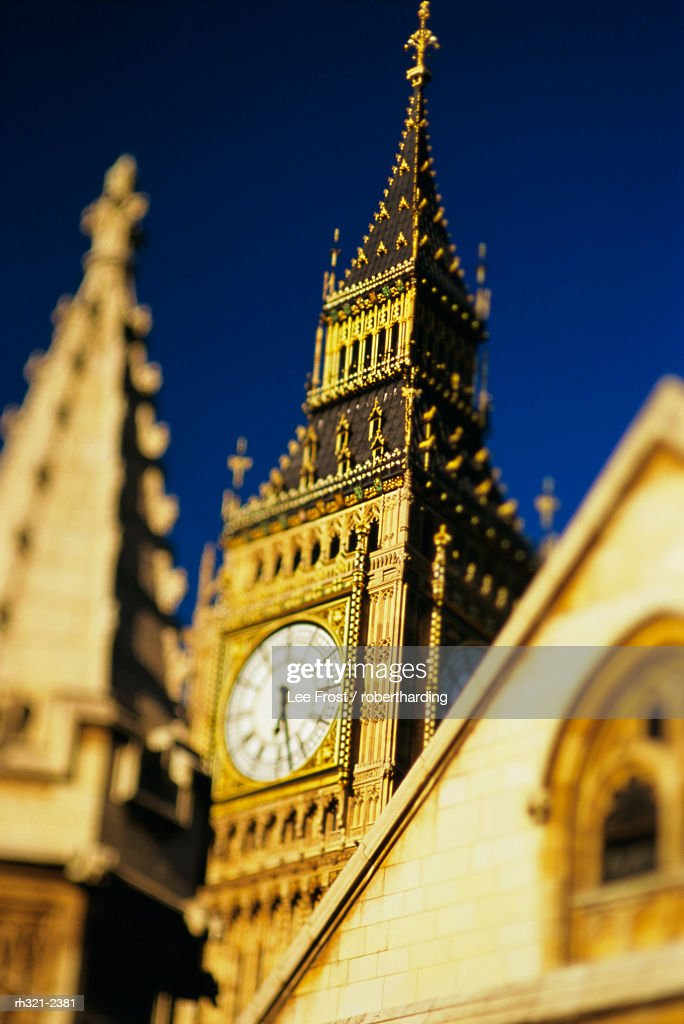 Big Ben, Houses of Parliament, Westminster, UNESCO World Heritage Site, London, England, UK, Europe : Stockfoto