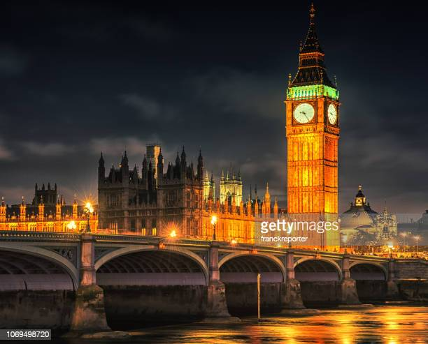 big ben in london - clock tower stock pictures, royalty-free photos & images