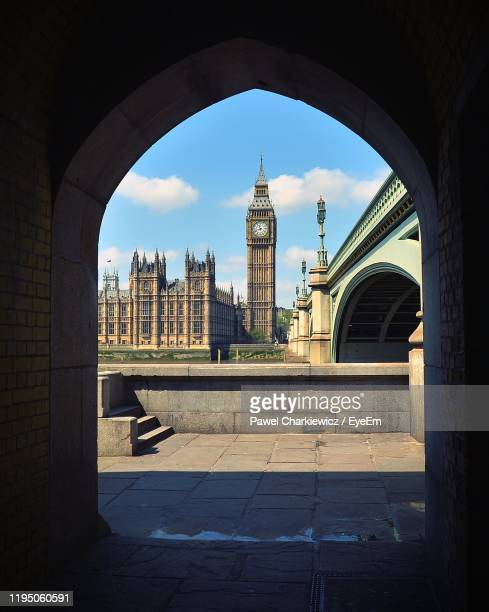big ben, london - city gate stock pictures, royalty-free photos & images