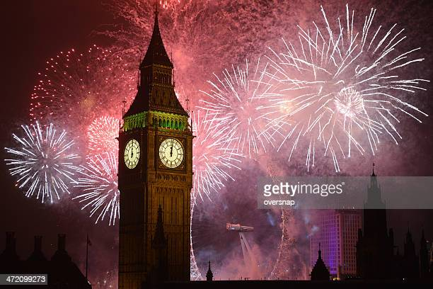 big ben - fireworks stock pictures, royalty-free photos & images