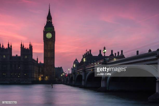 big ben & the houses of parliament, london - justin cliffe stock pictures, royalty-free photos & images