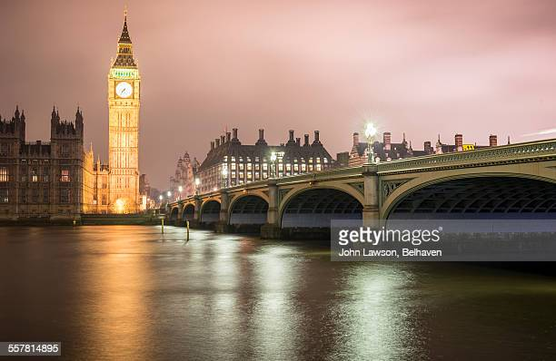 Big Ben, Westminster Bridge and Portcullis House