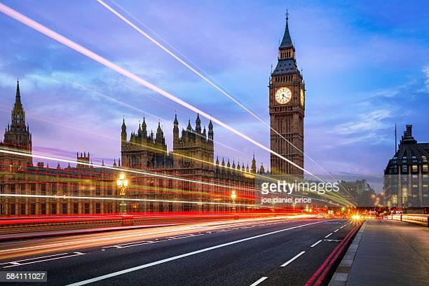big ben, westminster bridge, london, england - westminster bridge stock pictures, royalty-free photos & images
