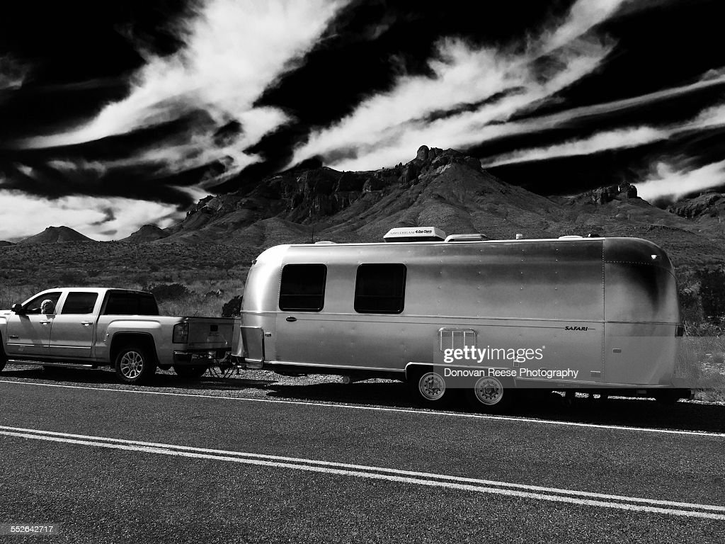 Big Bend NP  Texas  Airstream 3-2015 News Photo - Getty Images