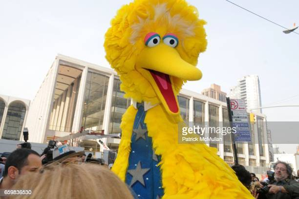 Big Bird attends NYC Proclaims SESAME STREET DAY on 40th Anniversary of the Show at Dante Park on November 9 2009 in New York City