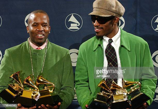 Big Boi and Andre 3000 of OutKast winners of Album of the Year