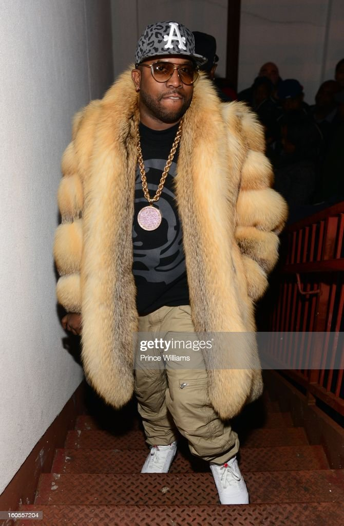 Big Boi attends his birthday celebration at at Club Reign on February 2, 2013 in Atlanta, Georgia.