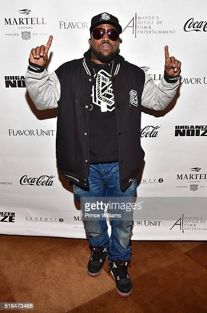 Big Boi attends 'The Art of Organized Noize' Private Screening at SCADshow on March 18 2016 in Atlanta Georgia