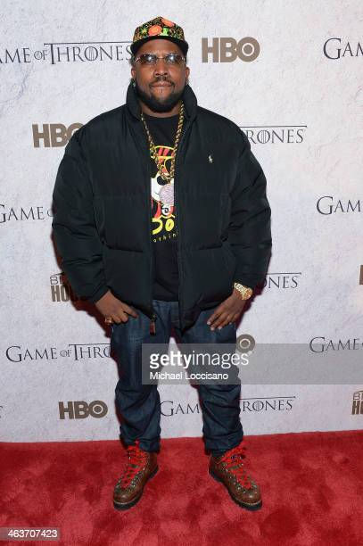 Big Boi attends the HBO And Blackhouse Foundation 'Game Of Thrones' Sundance Soiree on January 18 2014 in Park City Utah