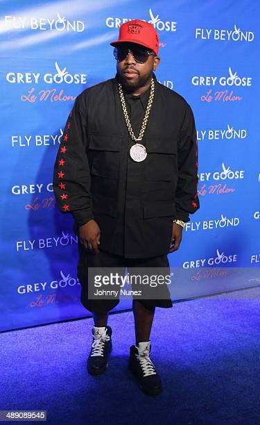 Big Boi attends the official launch of GREY GOOSE Le Melon hosted by GREY GOOSE Vodka at The New York Public Library on May 9 2014 in New York City