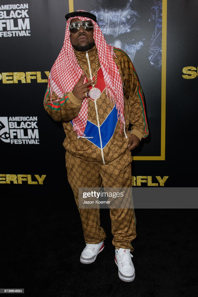 Big Boi attends the opening night screening of 'Superfly' at the FIllmore Miami Beach during the 22nd Annual American Black Film Festival on June 13, 2018 in Miami Beach, Florida.