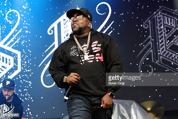 Big Boi of Big Grams performs live on day 1 of Governors Ball festival at Randall's Island on June 3 2016 in New York City